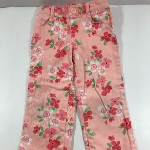 Gymboree Cherry Blossom Size 4T Pink Peach Pants